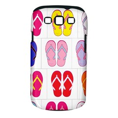 Flip Flop Collage Samsung Galaxy S III Classic Hardshell Case (PC+Silicone)