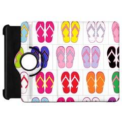 Flip Flop Collage Kindle Fire Hd 7  (1st Gen) Flip 360 Case