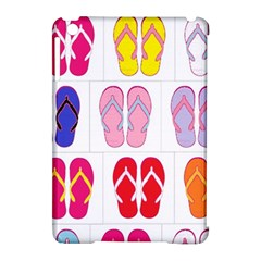 Flip Flop Collage Apple iPad Mini Hardshell Case (Compatible with Smart Cover)