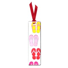 Flip Flop Collage Small Bookmark