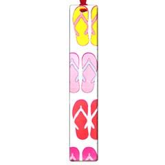 Flip Flop Collage Large Bookmark