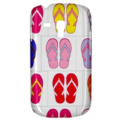 Flip Flop Collage Samsung Galaxy S3 Mini I8190 Hardshell Case