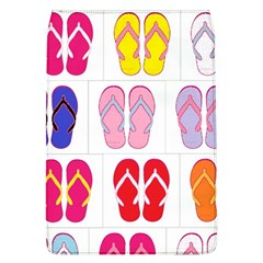 Flip Flop Collage Removable Flap Cover (Large)