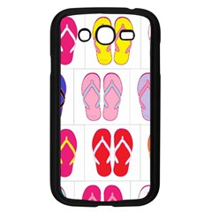 Flip Flop Collage Samsung Galaxy Grand DUOS I9082 Case (Black)