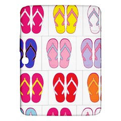 Flip Flop Collage Samsung Galaxy Tab 3 (10.1 ) P5200 Hardshell Case