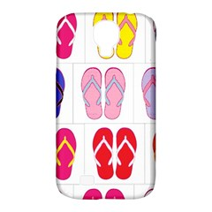 Flip Flop Collage Samsung Galaxy S4 Classic Hardshell Case (PC+Silicone)