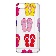Flip Flop Collage Apple iPhone 5C Hardshell Case