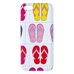 Flip Flop Collage Iphone 5s Premium Hardshell Case
