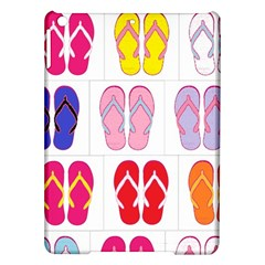 Flip Flop Collage Apple iPad Air Hardshell Case
