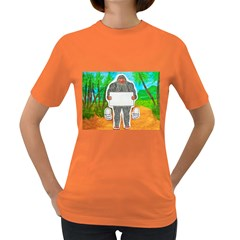Yowie A, Text In Aussie Outback, Women s T-shirt (Colored)