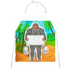 Yowie A, Text In Aussie Outback, Apron