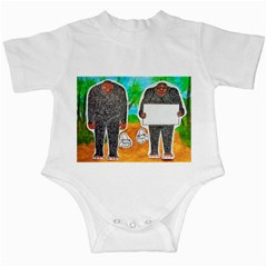 2 Yowie H,text & Furry In Outback, Infant Bodysuit