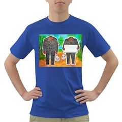 2 Yowie H,text & Furry In Outback, Men s T Shirt (colored)