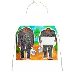 2 Yowie H,text & Furry In Outback, Apron