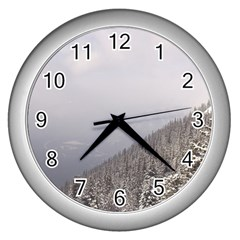 Banff Wall Clock (Silver)