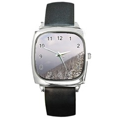 Banff Square Leather Watch