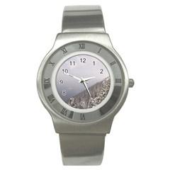 Banff Stainless Steel Watch (Slim)