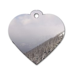 Banff Dog Tag Heart (two Sided)