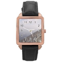 Banff Rose Gold Leather Watch