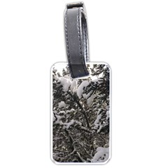 Snowy Trees Luggage Tag (Two Sides)
