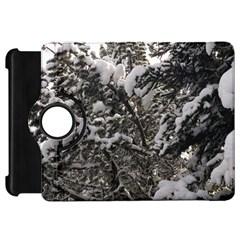 Snowy Trees Kindle Fire Hd 7  (1st Gen) Flip 360 Case