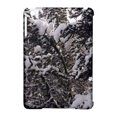 Snowy Trees Apple iPad Mini Hardshell Case (Compatible with Smart Cover)