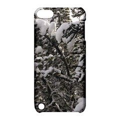 Snowy Trees Apple iPod Touch 5 Hardshell Case with Stand