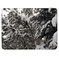 Snowy Trees Samsung Galaxy Tab 7  P1000 Flip Case