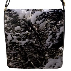Snowy Trees Removable Flap Cover (Small)