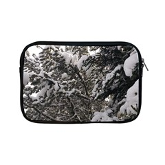 Snowy Trees Apple Ipad Mini Zippered Sleeve