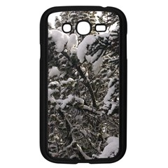 Snowy Trees Samsung Galaxy Grand Duos I9082 Case (black)