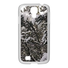 Snowy Trees Samsung GALAXY S4 I9500/ I9505 Case (White)