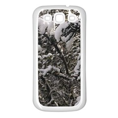 Snowy Trees Samsung Galaxy S3 Back Case (white)