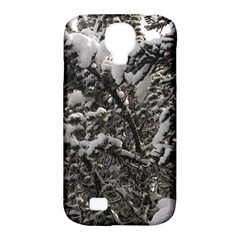 Snowy Trees Samsung Galaxy S4 Classic Hardshell Case (PC+Silicone)
