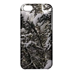 Snowy Trees Apple iPhone 5C Hardshell Case