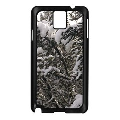Snowy Trees Samsung Galaxy Note 3 N9005 Case (Black)
