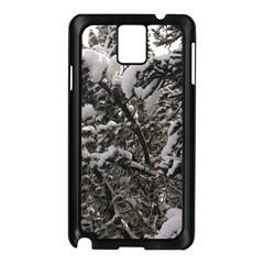 Snowy Trees Samsung Galaxy Note 3 N9005 Case (black)