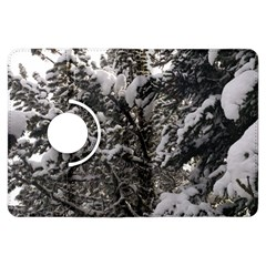 Snowy Trees Kindle Fire HDX 7  Flip 360 Case