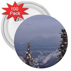Trees 3  Button (100 pack)