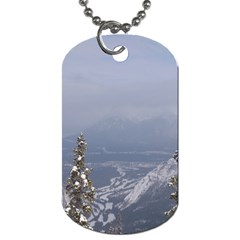 Trees Dog Tag (Two-sided)