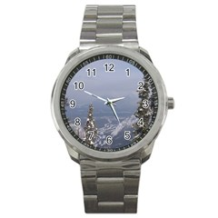 Trees Sport Metal Watch