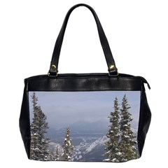 Trees Oversize Office Handbag (Two Sides)