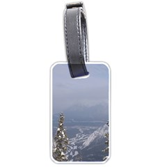 Trees Luggage Tag (One Side)