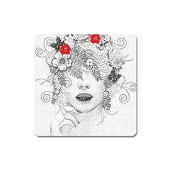 Flower Child Magnet (Square)