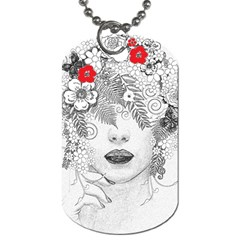 Flower Child Dog Tag (One Sided)
