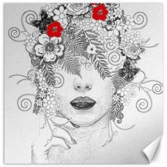 Flower Child Canvas 16  x 16  (Unframed)