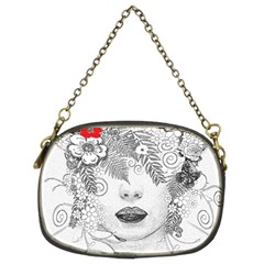 Flower Child Chain Purse (two Sided)