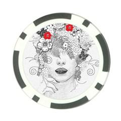 Flower Child Poker Chip (10 Pack)