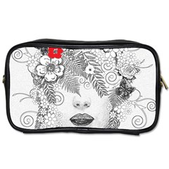 Flower Child Travel Toiletry Bag (Two Sides)