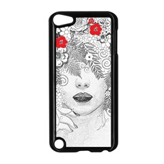 Flower Child Apple iPod Touch 5 Case (Black)